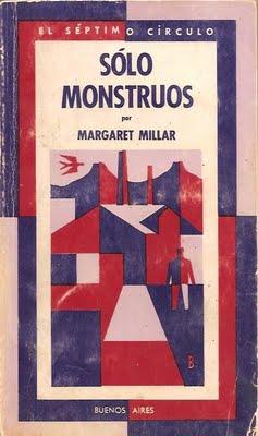 Portada José Bonomi Margaret Millar Sólo monstruos