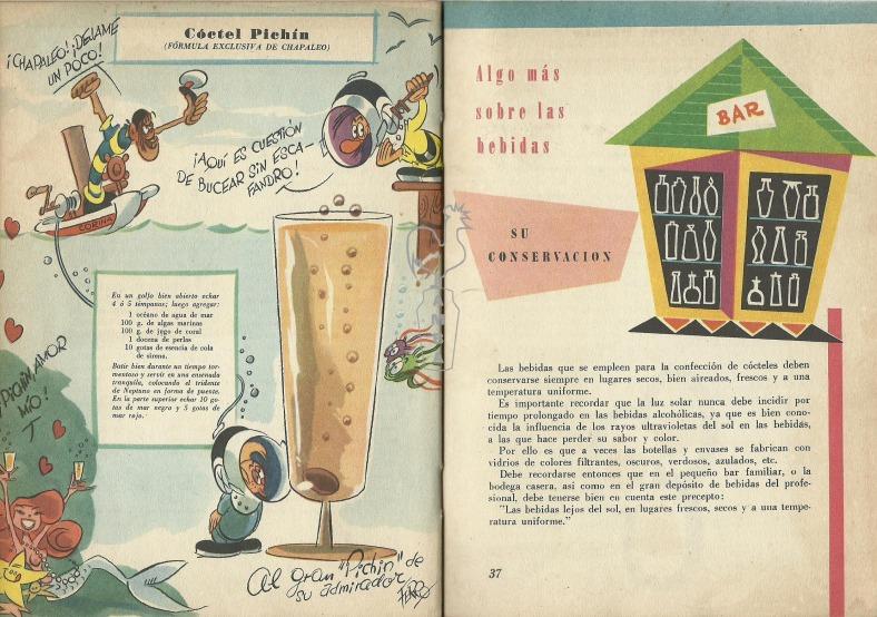 Pages from 1955 TRAGOS MÁGICOS, de SANTIAGO POLICASTRO -PICHIN-, EDICIONES RIVERSIDE, BUENOS AIRES 1955
