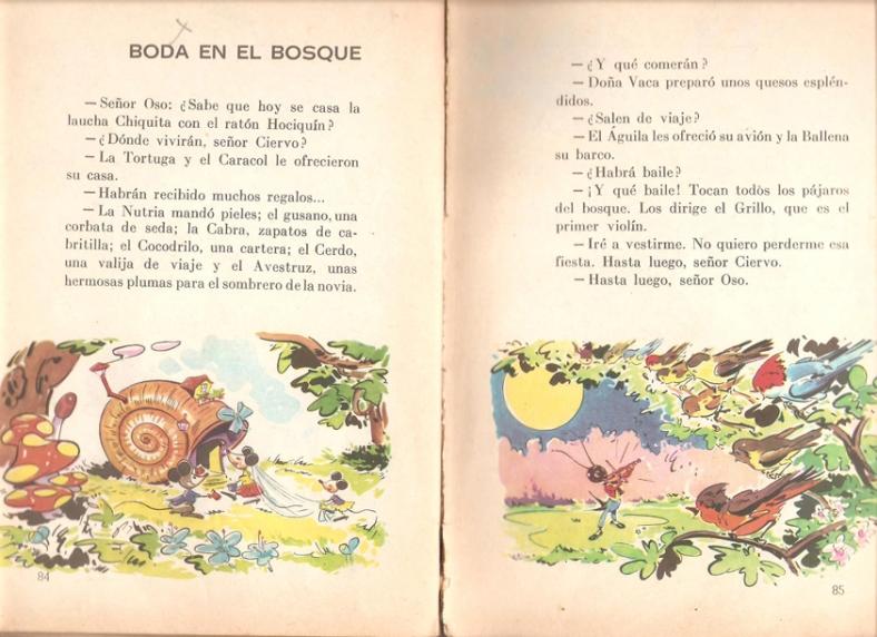 páginas 84 y 85