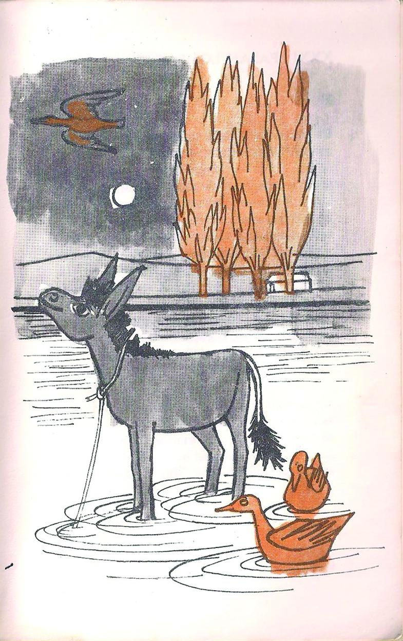Ilustración de cuento