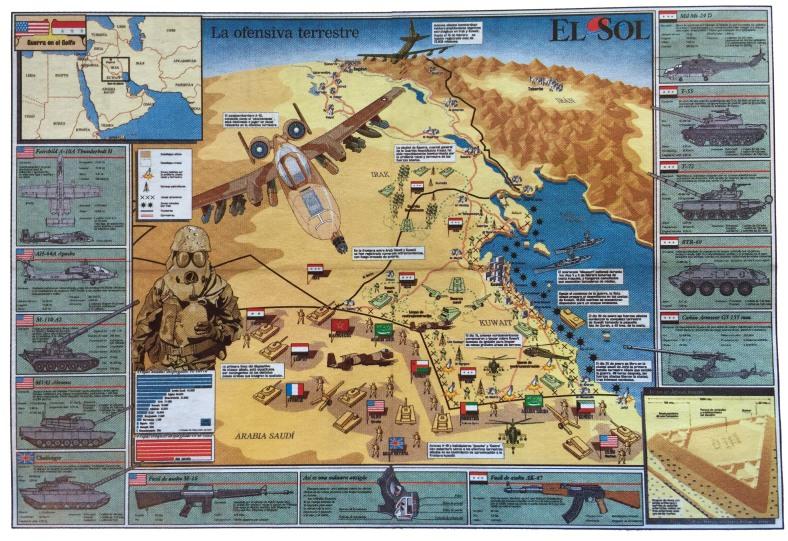 Infografia la ofensiva terrestre