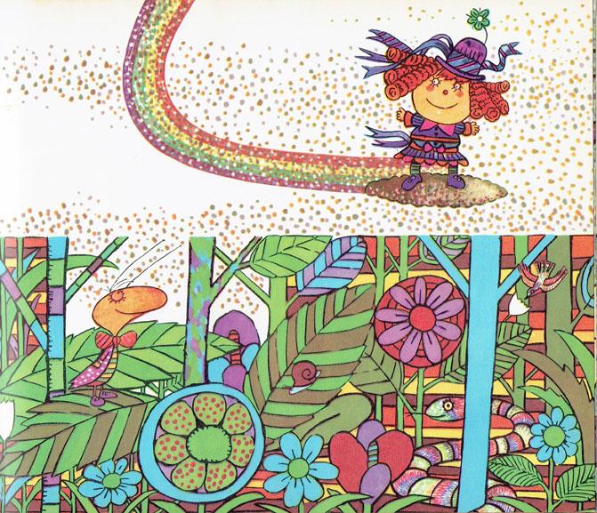 Pagina interna 1   Ilustrado por Jorge Limura - Texto de Ines Malinow