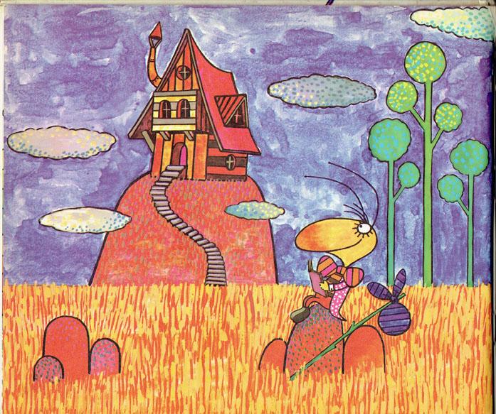Pagina interna 4   Ilustrado por Jorge Limura - Texto de Ines Malinow