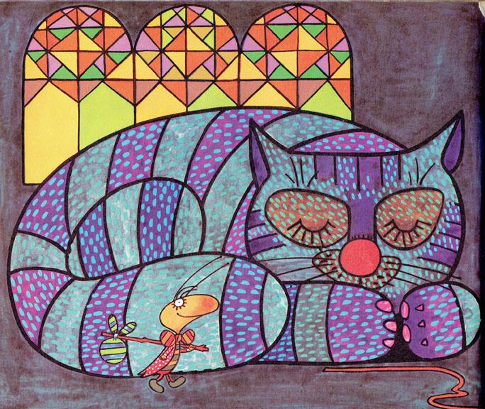 Pagina interna 5   Ilustrado por Jorge Limura - Texto de Ines Malinow
