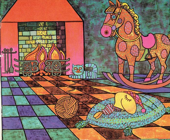Pagina interna 6   Ilustrado por Jorge Limura - Texto de Ines Malinow