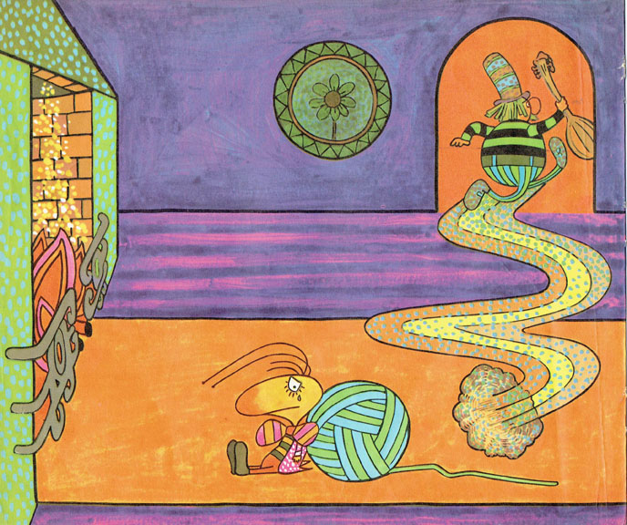 Pagina interna 8   Ilustrado por Jorge Limura - Texto de Ines Malinow