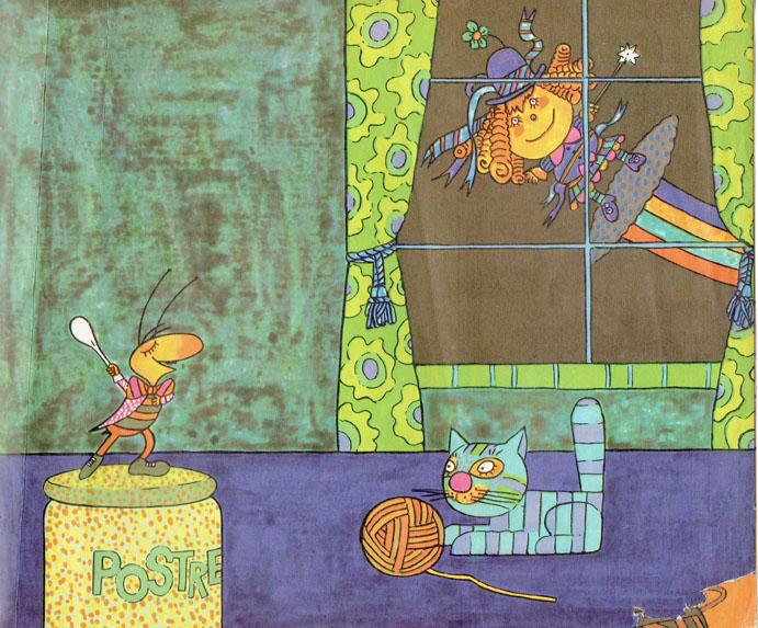 Pagina interna 9 | Ilustrado por Jorge Limura - Texto de Ines Malinow