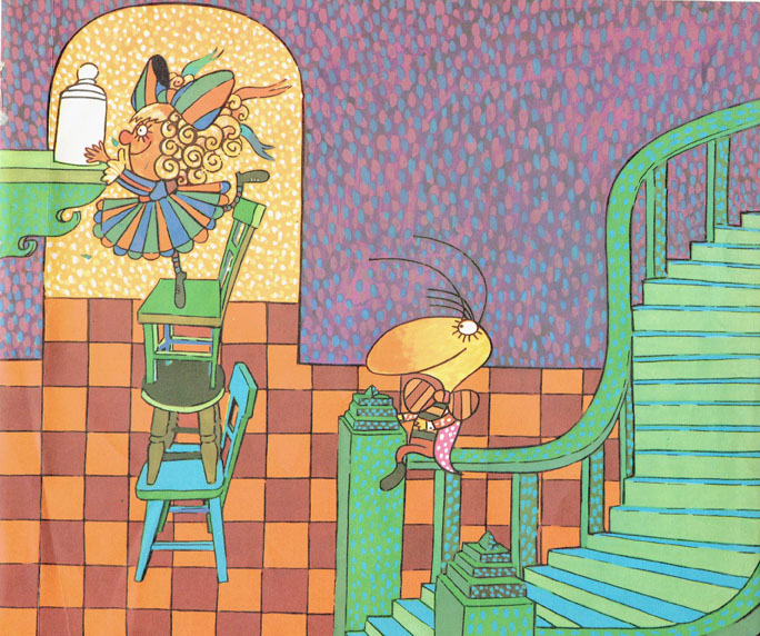 Pagina interna 10   Ilustrado por Jorge Limura - Texto de Ines Malinow
