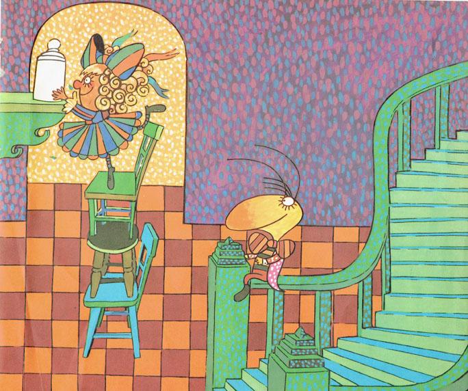 Pagina interna 10 | Ilustrado por Jorge Limura - Texto de Ines Malinow