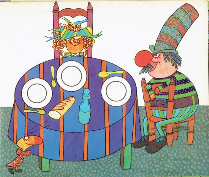 Pagina interna 12   Ilustrado por Jorge Limura - Texto de Ines Malinow