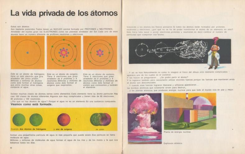 La vida privada de los átomos