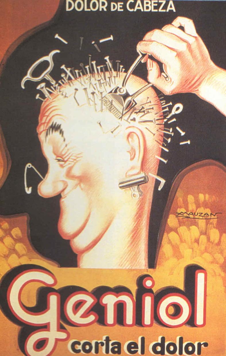 Entre 1927 y 1932, Mauzán hizo más de un centenar de anuncios en la Argentina, entre ellos el tan famoso de Geniol. Hoy se lo considera uno de los grandes de la especialidad. Mauzán consideraba el afiche como el bombo de la orquesta de la publicidad.