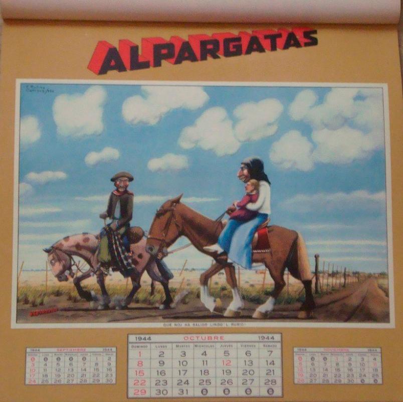 Almanaque Alpargatas