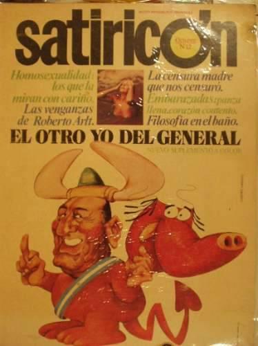 Tapa satiricón nº12