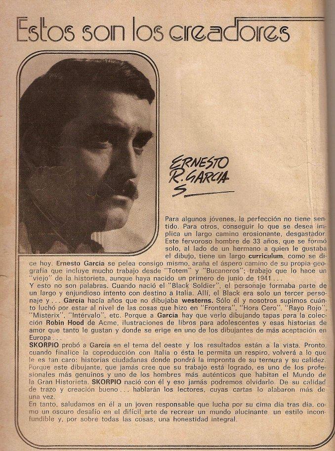 Biografia Ernesto Gabriel Seijas