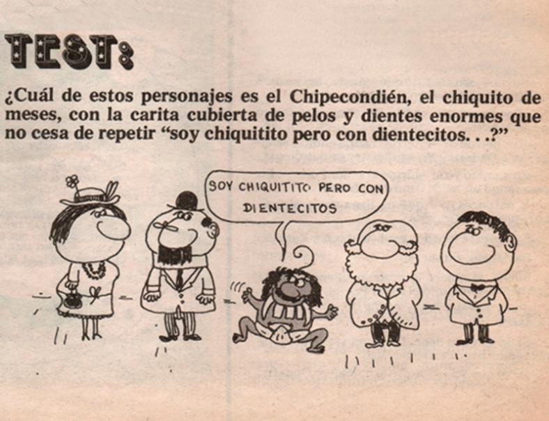 """Ilustración de revista: Tía Vicenta"""" (1977)"""