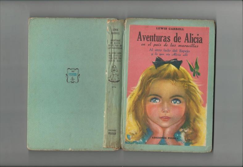 Tapa de las Aventuras de Alicia