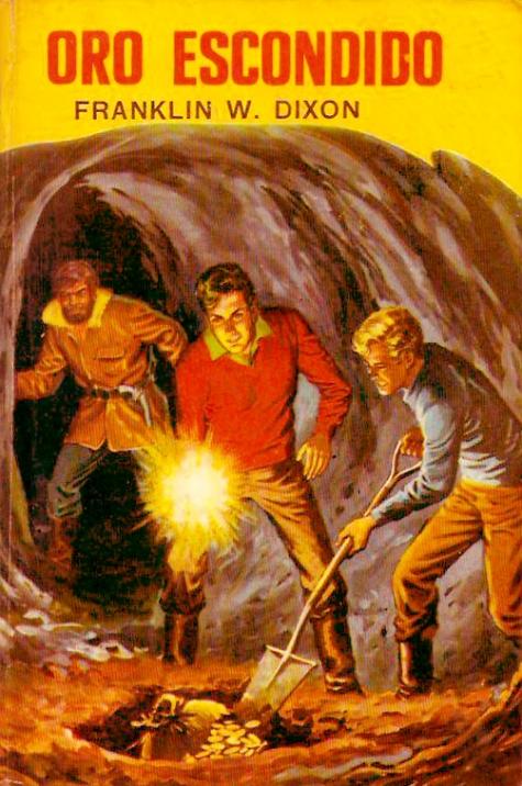Tapa del libro Oro Escondido