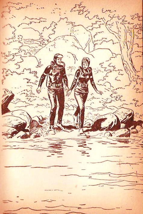 Ilustración del libro La Hostería Misteriosa