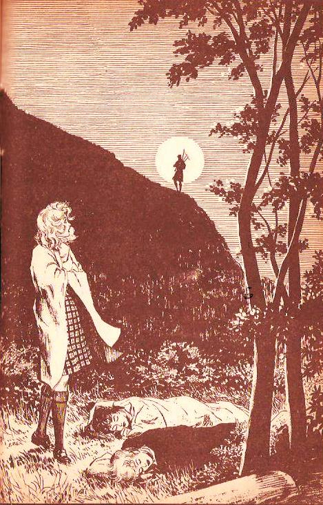 Ilustración del libro El Indicio del Gaitero Silvador