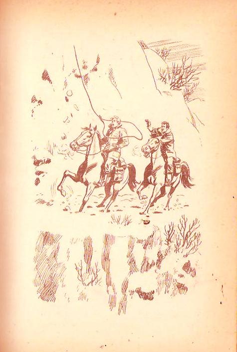 Ilustración del libro Oro Escondido