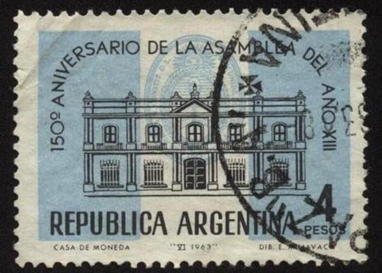 150 Aniv. de la Asamblea del año XII, Argentina