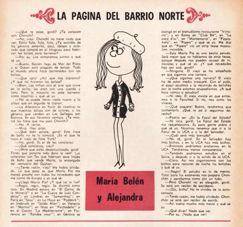"""Página de revista """"Tío Landrú"""" (1969)"""