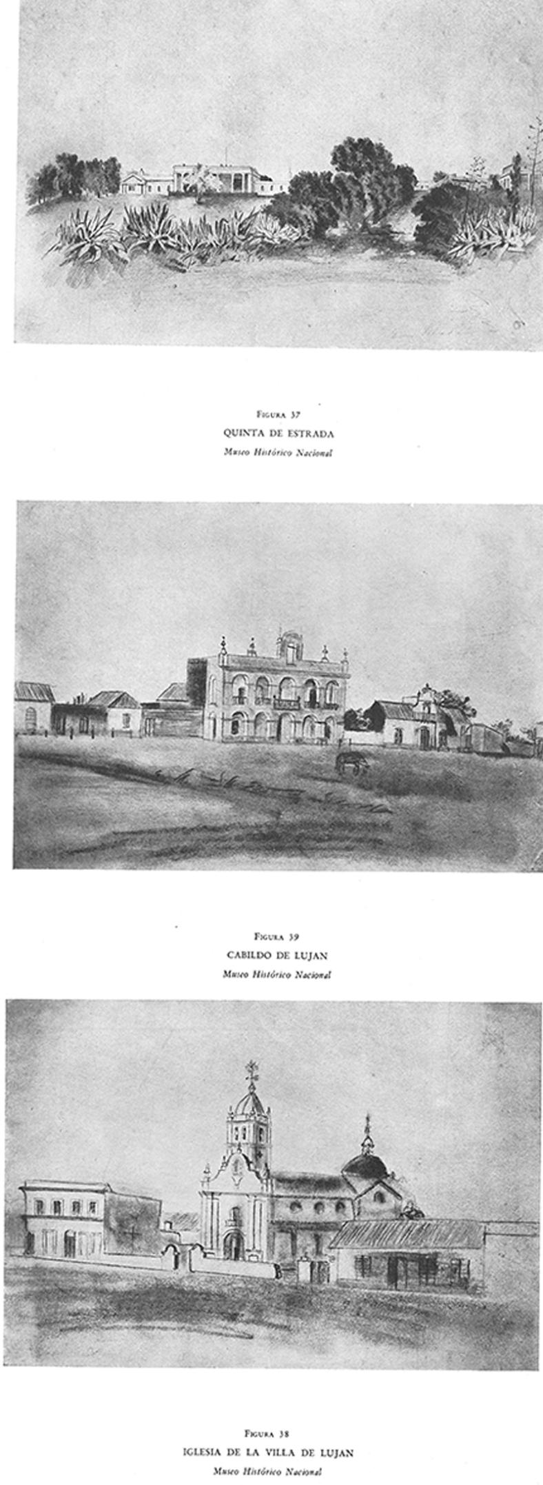 Quinta de Estrada / Cabildo de Lujan / Iglesia de la Villa de Lujan