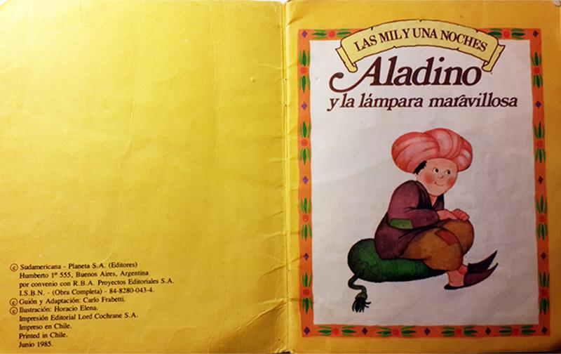 y Aladino maravillosaARCHIVO Elena la Horacio lámpara 4jAR5L