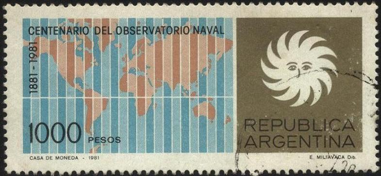 Centenario del Observatorio Natal, Argentina