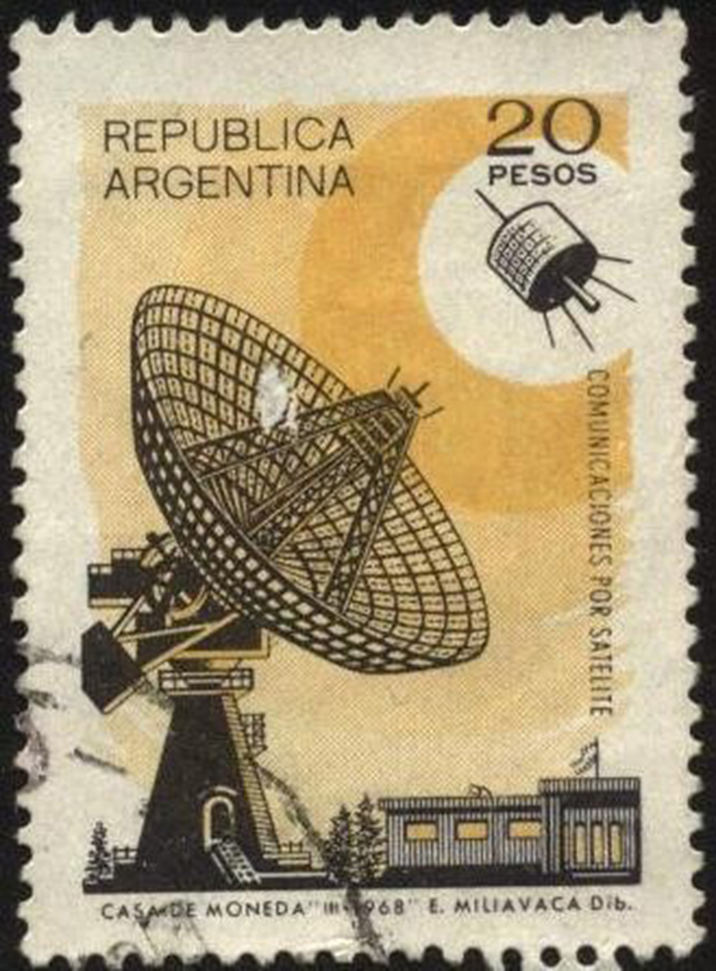 Comunicaciones por satelite, Argentina