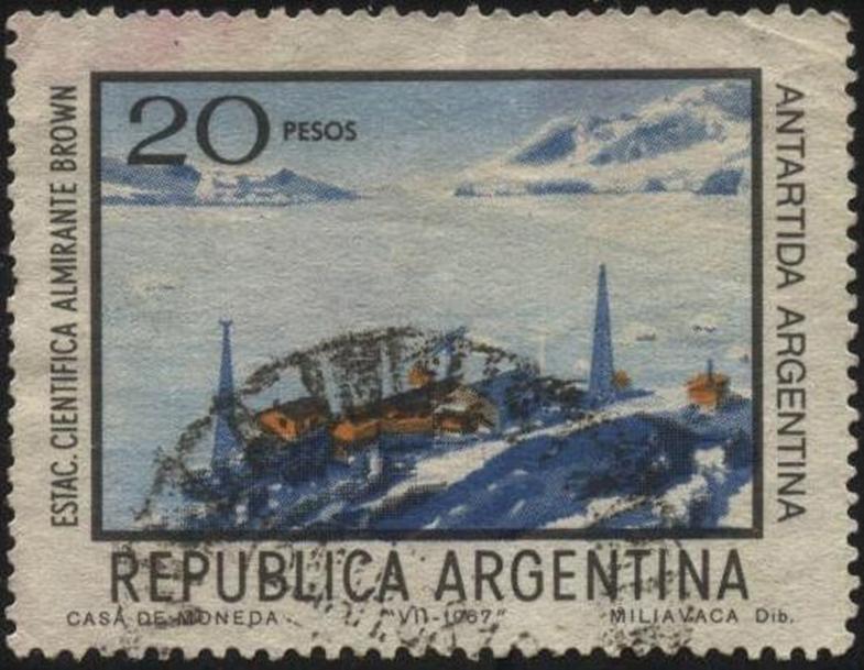 Estac. Científica Almirante Brown, Argentina