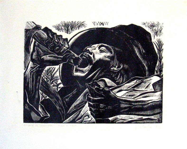 ESTAMPA DEL CAÑAVERAL (1954)
