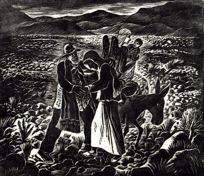 LOS SOLITARIOS DEL PEDREGAL (1949)