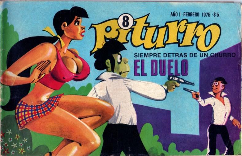 Tapa de la historieta Piturro