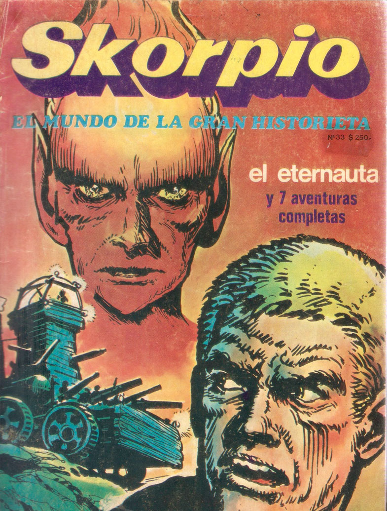 Tapa revista Skorpio Nº33