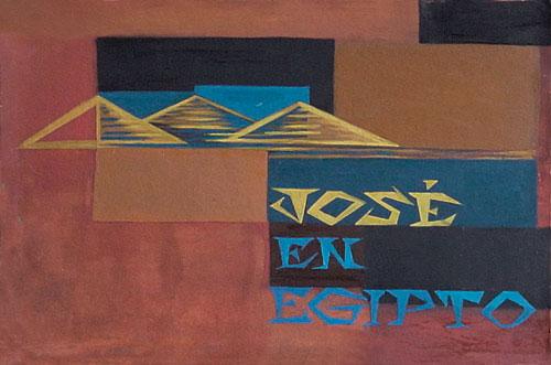 Jose en Egipto Tapa