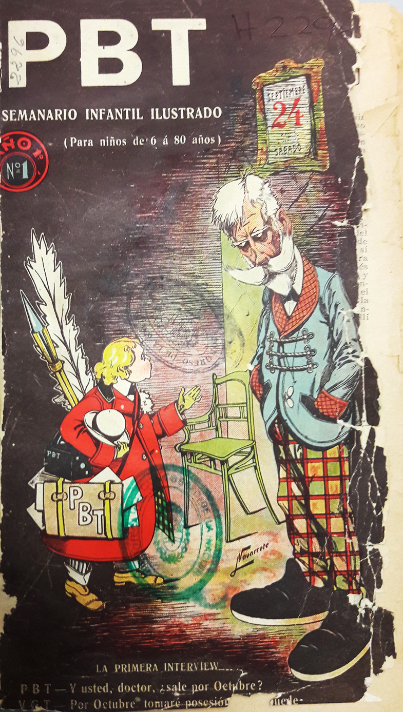 PBT Tapa de la primera edición: 24 de septiembre de 1904
