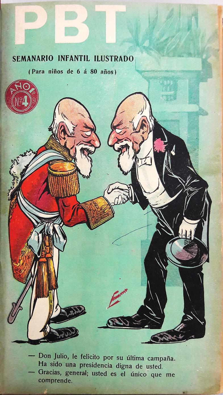 PBT Tapa del cuarto número (septiembre 1904)