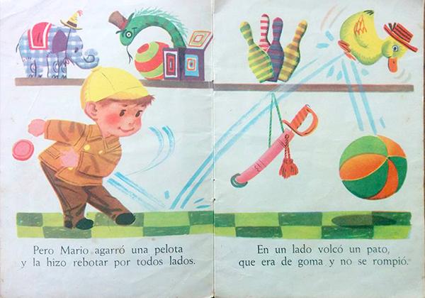 Mario en la jugueteria