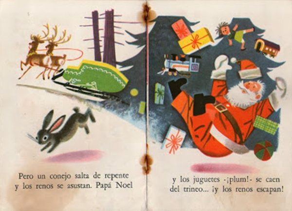 Buen viaje Papa Noel interior