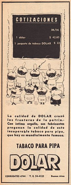 52 Anuncio Dólar, por Landrú (1958)