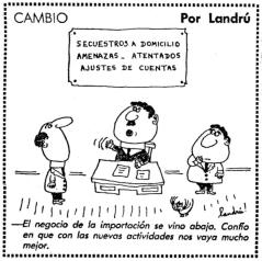 CAMBIO POR LANDRU