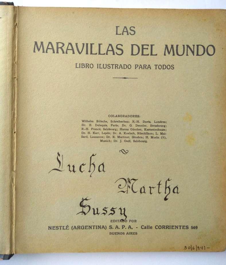 Primera Página del Libro