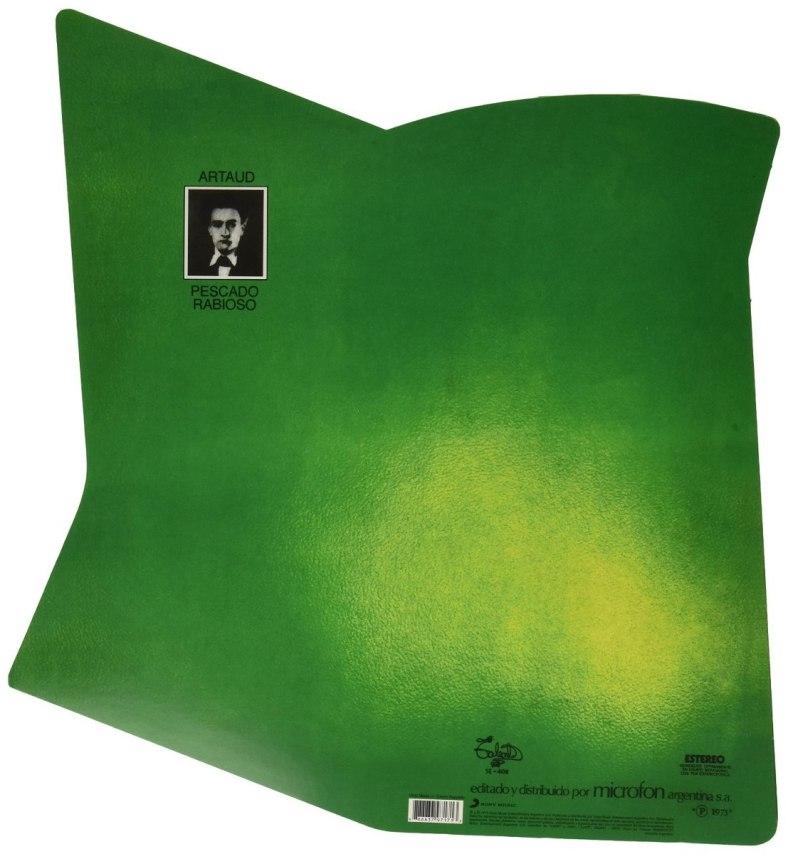 Tapa del disco de Pescado Rabioso - Artaud (1973)