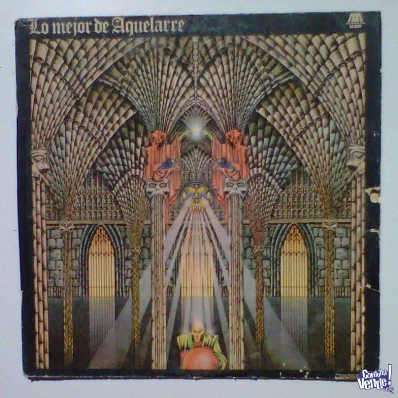 Tapa del disco de Aquelarre - Lo mejor de Aquelarre (1977)