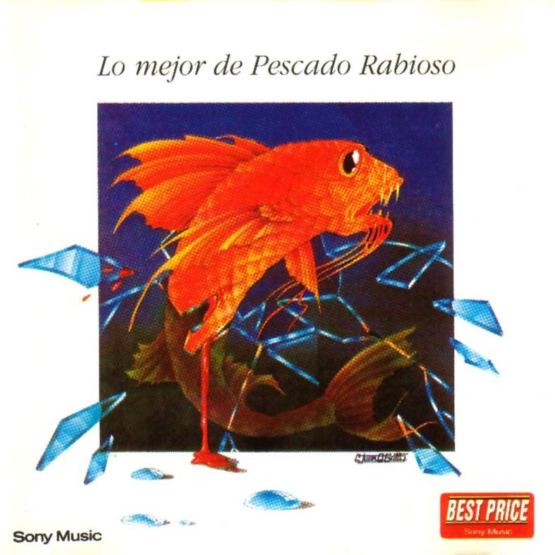 Tapa del disco de Pescado Rabioso - Lo mejor de Pescado Rabioso (1976)