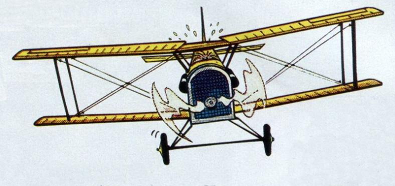 Avión de Lúpin