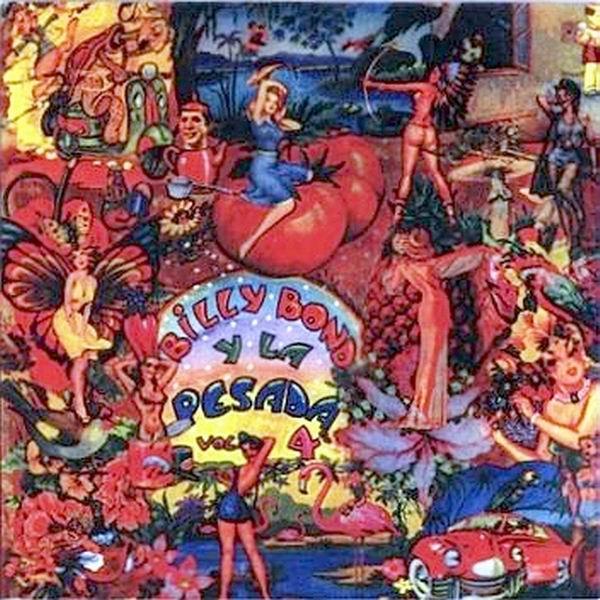Tapa del disco de Billy Bond y La Pesada del Rock and Roll - Vol. 4 (1973)