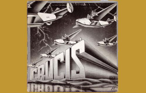 Insert del disco de Crucis - Crucis (1976)